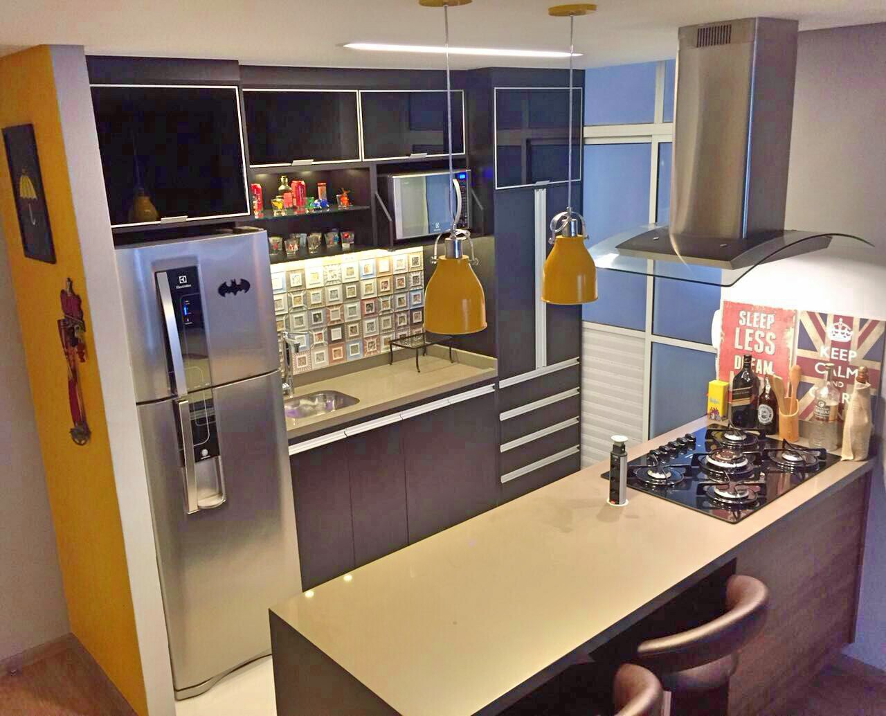 Residenciais ~ Balcão De Cozinha Em Alvenaria