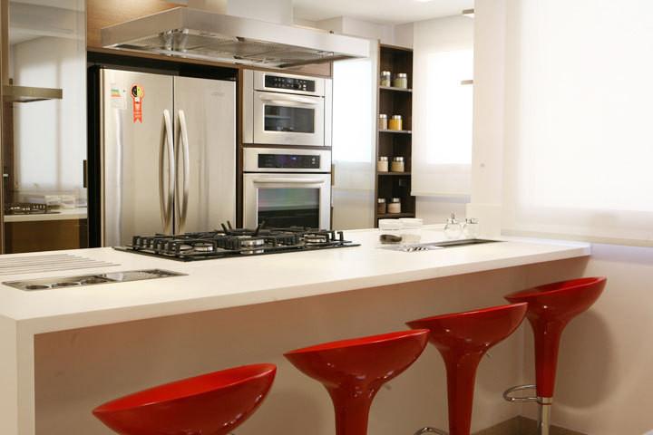 Residenciais - Imagenes de cocinas pequenas para apartamentos ...